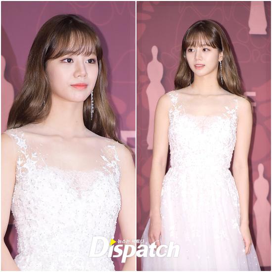 Hyeri's Doll-like Moment at 2017 MBC Drama Awards   Korea