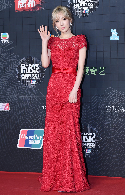 Kpop Idols In Red Dress Red Carpet Allkpop Forums